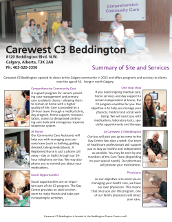 Carewest C3 Beddington
