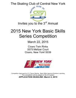 2015 New York Basic Skills Series Competition