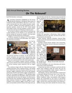 2015 Annual Meeting Review - South Carolina Timber Producers
