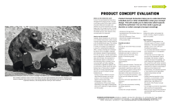 PRODUCT CONCEPT EVALUATION