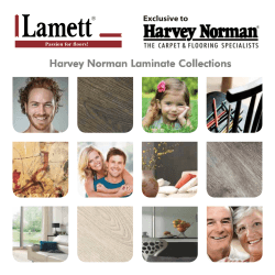 2013 - 2014 Laminate Collections Exclusive to