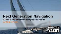 Next Generation Navigation