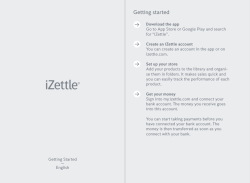 UK - iZettle_Lite - Getting Started.indd
