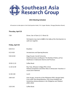 here - Southeast Asia Research Group
