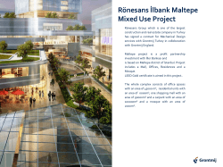 Rönesans İlbank Maltepe Mixed Use Project