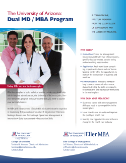 View MBA/MD program overview in PDF format.