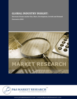 Global Electronic Drums market Size, Share, Development, Growth and Demand Forecast to 2020