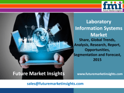 Laboratory Information Systems Market