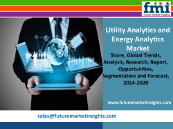 Market Size of Utility Analytics and Energy Analytics Market, Forecast Report 2014-2020
