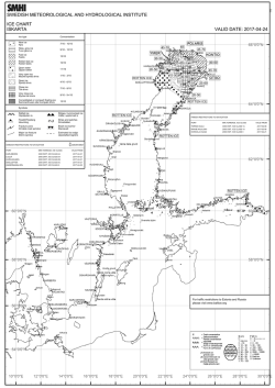 swedish meteorological and hydrological institute ice chart