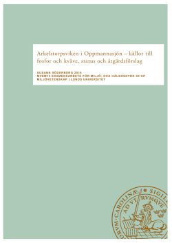 Open Access - Lunds universitet