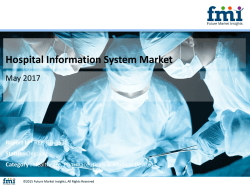 Hospital Information System Market size in terms of volume and value 2017-2027