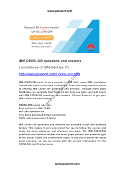 IBM C5050-300 questions and answers