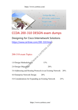 CCDA 200-310 DESGN exam dumps