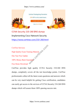 CCNA Security 210-260 IINS dumps
