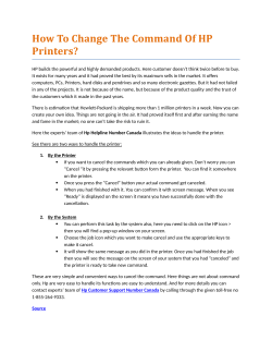 How to Change the Command of HP Printers?