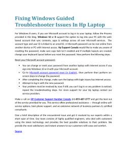 Fixing Windows Guided Troubleshooter Issues In Hp Laptop