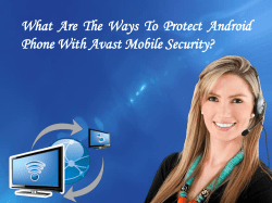 What Are The Ways To Protect Android Phone With Avast Mobile Security