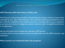 Amt service corp offers protect it plan card