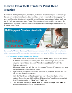How to Clear dell Printer 238 dec send to pradeep