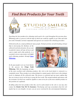 Find Best Products for Your Teeth
