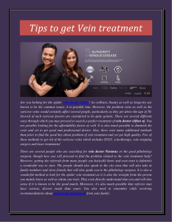 Tips to get Vein treatment