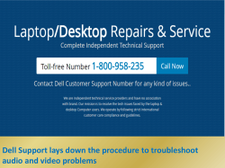 Dell Support lays down the procedure to troubleshoot audio and video problems