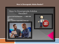How to Downgrade Adobe Reader