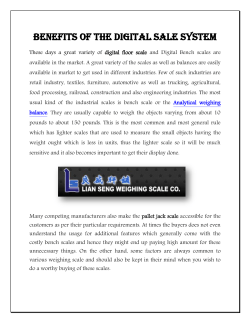 Benefits of the Digital Sale System