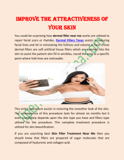 Improve the Attractiveness of Your skin