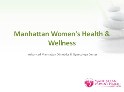 Manhattan Women s Health   Wellness