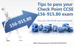 Check Point CCSE 156-915.80 dumps