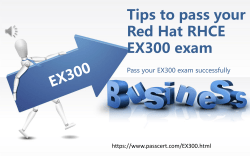 Red Hat RHCE EX300 dumps