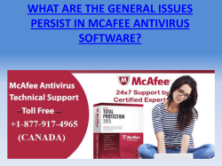 general-issues-in-mcafee-antivirus