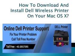 How To Download And Install Dell Wireless Printer-converted