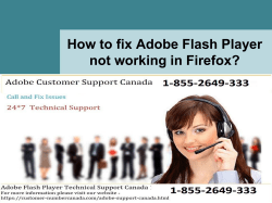 How to fix Adobe Flash Player not working in Firefox-converted
