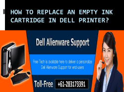 How to Replace an Empty Ink Cartridge in Dell Printer-converted (1)