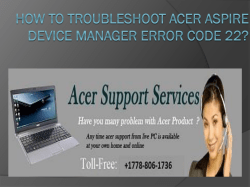 How to troubleshoot Acer Aspire Device Manager Error-converted
