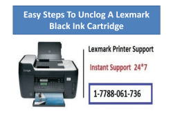 Easy Steps To Unclog A Lexmark Black Ink Cartridge-converted