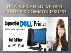 How We Can Solve Dell Printer's Common Issues-converted