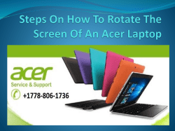Steps On How To Rotate The Screen Of-converted