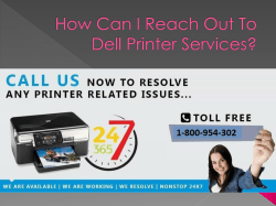 How Can I Reach Out To Dell Printer