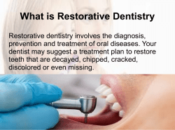 Different Types of Dental Treatments