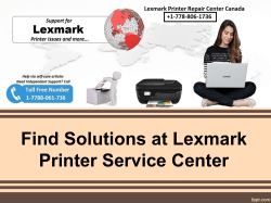 Find Solutions at Lexmark Printer Service Center-converted