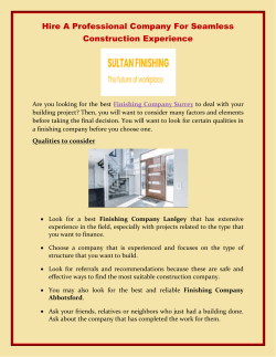 Hire A Professional Company For Seamless Construction Experience