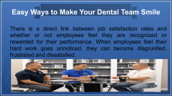 Easy Ways to Make Your Dental Team Smile