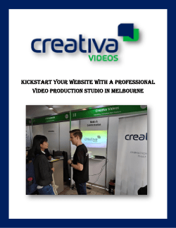 Kickstart Your Website With A Professional Video Production Studio in Melbourne