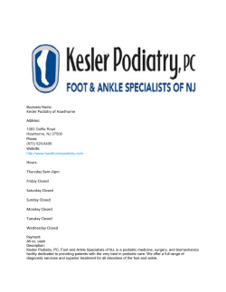 Kesler Podiatry of Hawthorne