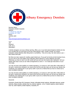 Emergency Dentist Coxsackie