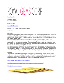 Royal Gems Corp